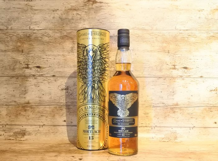 Mortlach 15 Game of Thrones Limited edition in original tube - 700 ml