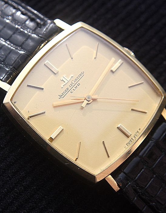 Jaeger-LeCoultre - Club, oro 18 quilates, excelente - 200601 - Heren - 1960-1969