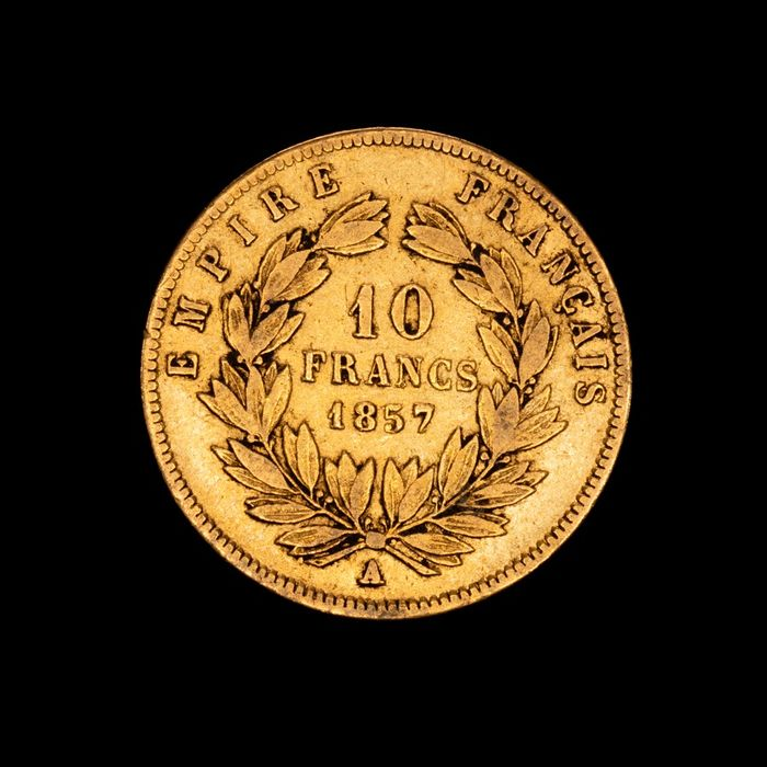 10 Francs 1857-A Napoleon III - Or