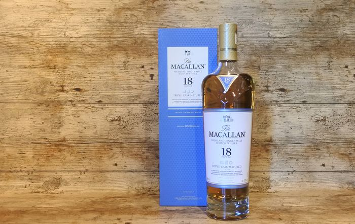 Macallan 18 years old Triple Cask Matured 2019 Release - 700ml