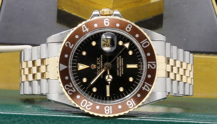 Rolex - GMT-Master  Ref. 1675 - Nipple Dial  - Homme - 1980-1989