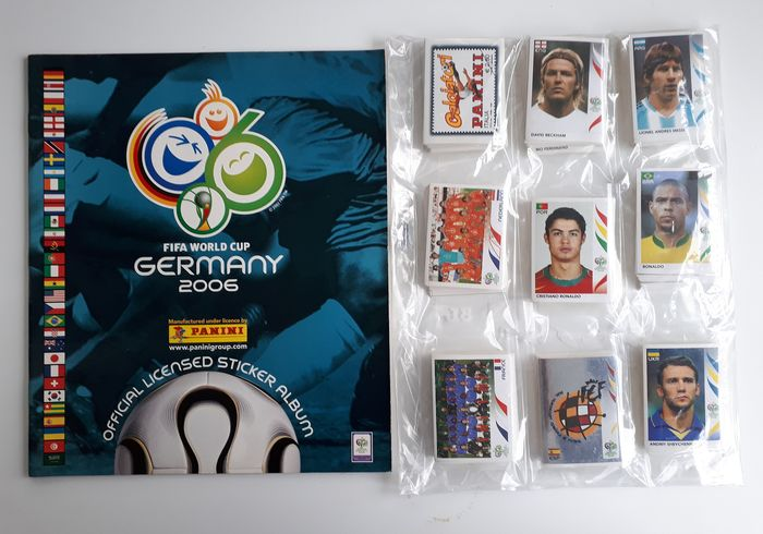 Panini - World Cup 2006 Germany - Leeg album + complete losse stickerset - 2006