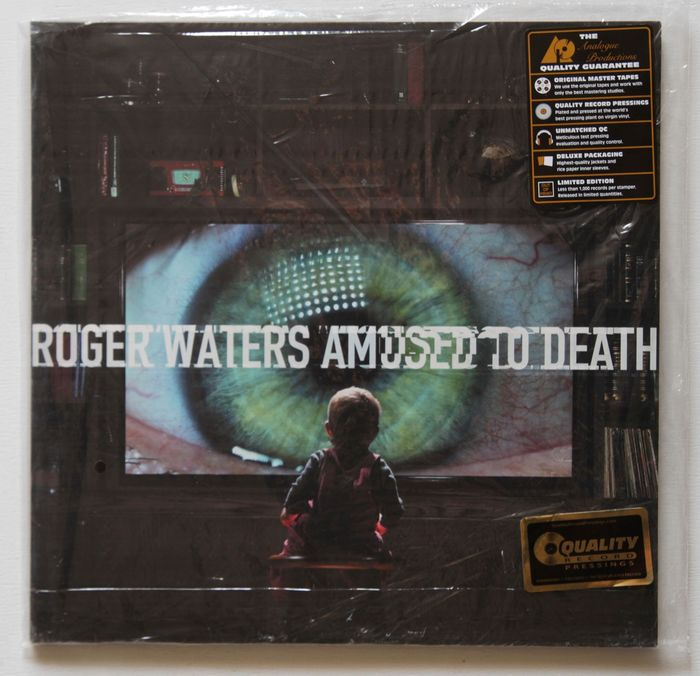 Roger Waters - Amused To Death Limited 200-gram gatefold double LP pressed at Quality Record Pressings! - 2xLP Album (double album) - 2015/2015
