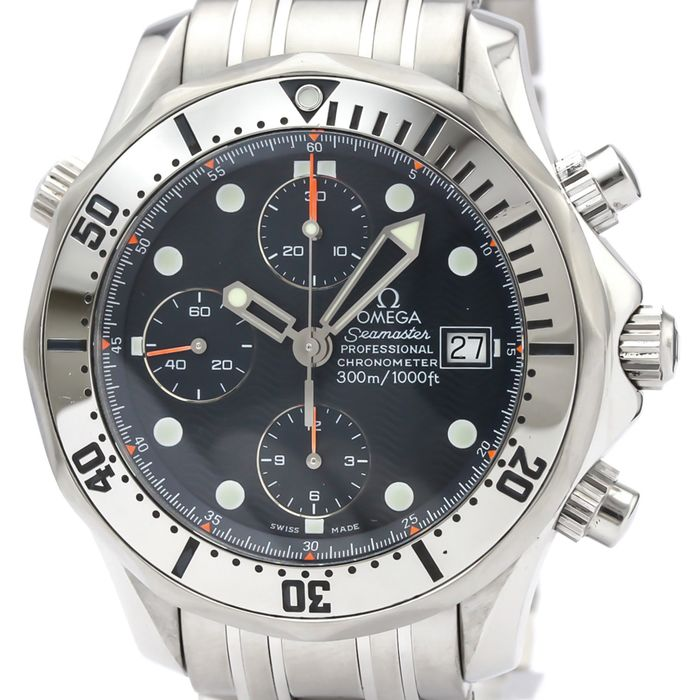 "Omega - Seamaster Chronograph - ""NO RESERVE PRICE"" - 2598.8 - Homme - ."