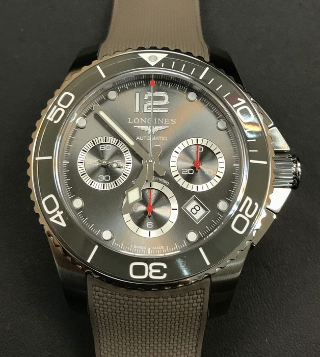 Longines - Hydroconquest Chronograph 43MM - L38834769 - Heren - 2011-heden