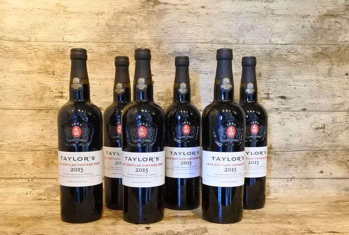 2015 Taylor's Late Bottled Vintage Port - 6 Flessen (0.75 liter)