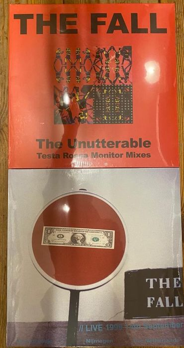 The Fall - Bundle of 2 great The Fall records: The Unutterable & Nijmegen 1999 (LIVE) - LP's - 2019/2019