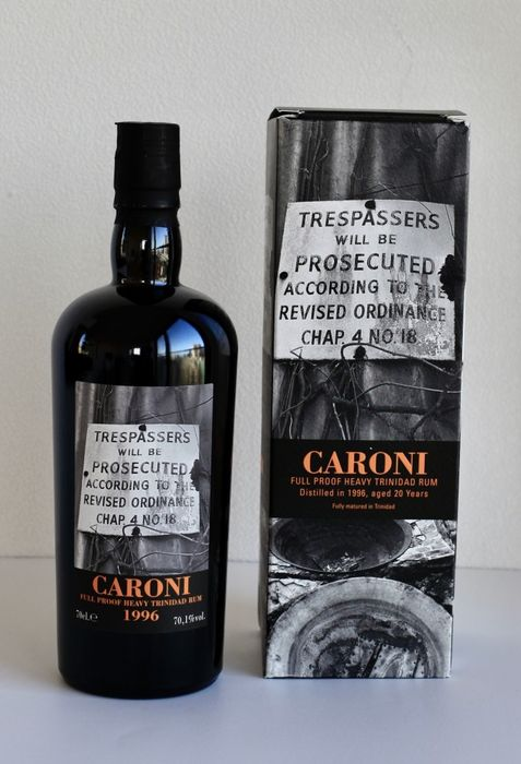 Caroni 1996 20 years old Velier - Trespassers - b. 2016 - 70cl