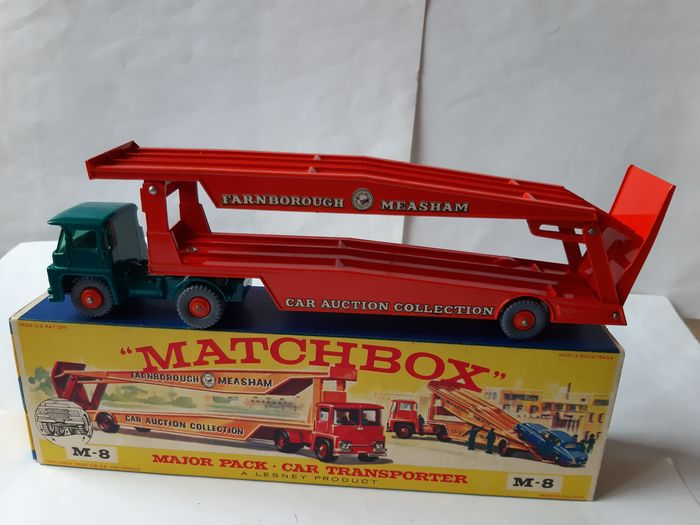 Matchbox - 1:48 - Matchbox- Guy Warrior Car Transporter- Nr. M-8