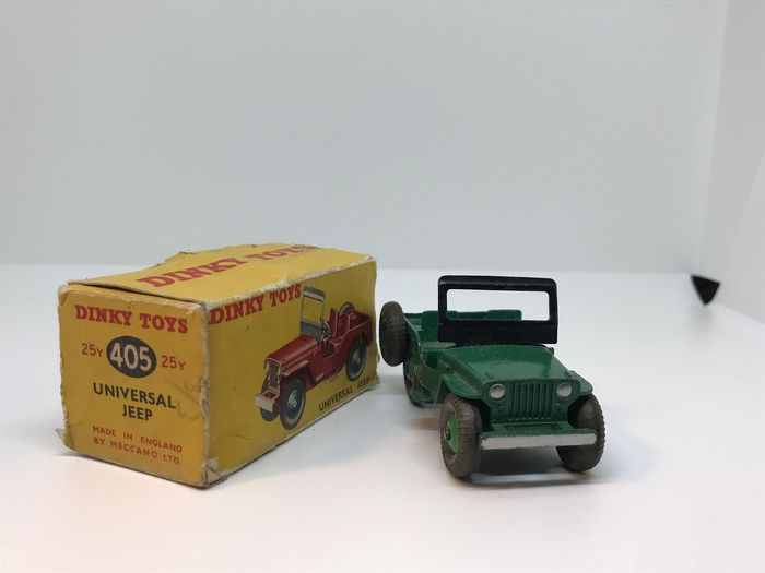 Dinky Toys - 1:43 - 405 Universal Jeep