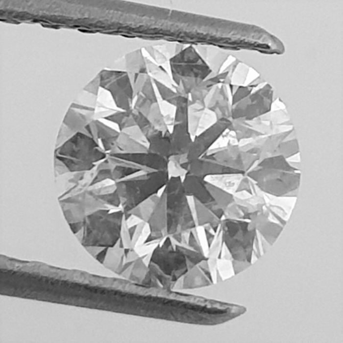 Diamond - 1.06 ct - Brilliant - G - SI2