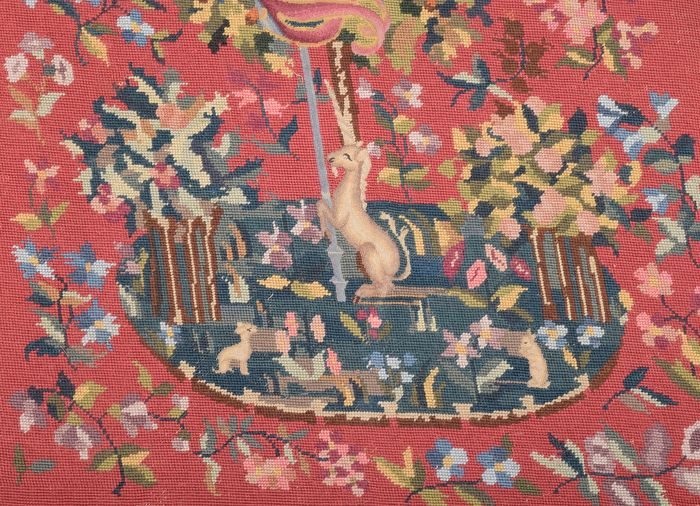 Tapestry, Unicorn - Gross Point - Medieval Style