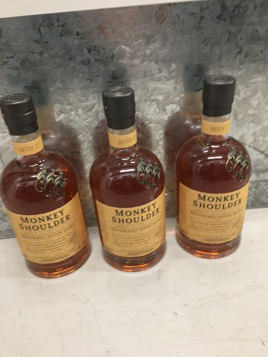 Monkey Shoulder - 70cl - 3 bottles