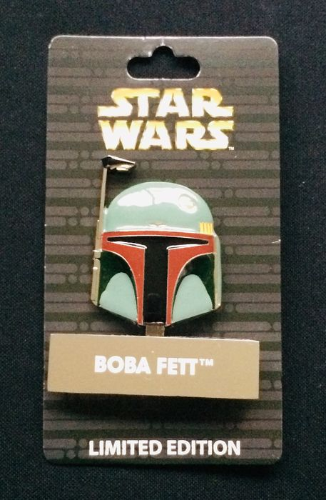 Star Wars - Boba Fett - Hinged Pin Disney Parks USA Exclusive - Sold Out - Limited Edition