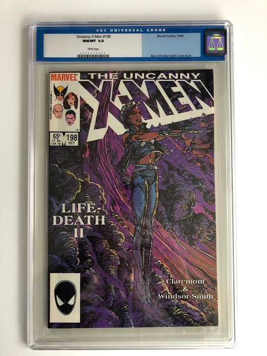 X-men #198 - Forge Appearance - CGC Graded 9.8 - Extremely High Grade - Softcover - Eerste druk - (1985)