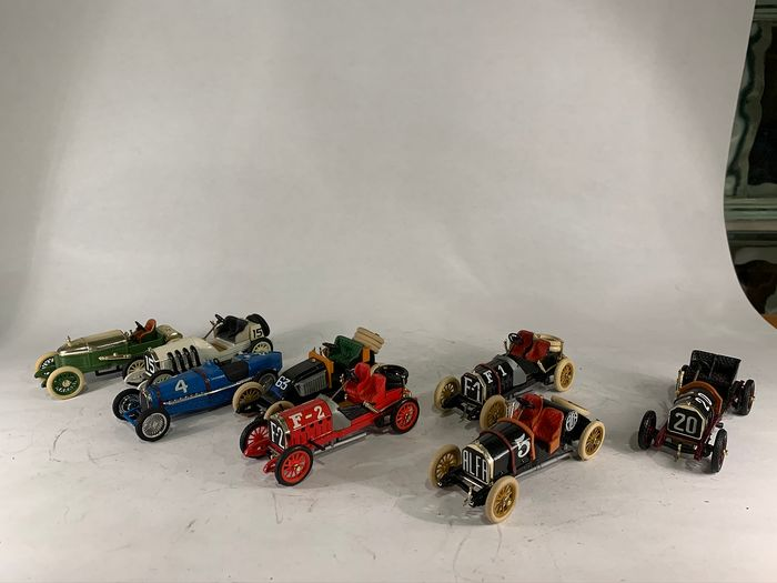 Brumm - 1:43 - Lot with 8 models - Made in Italy