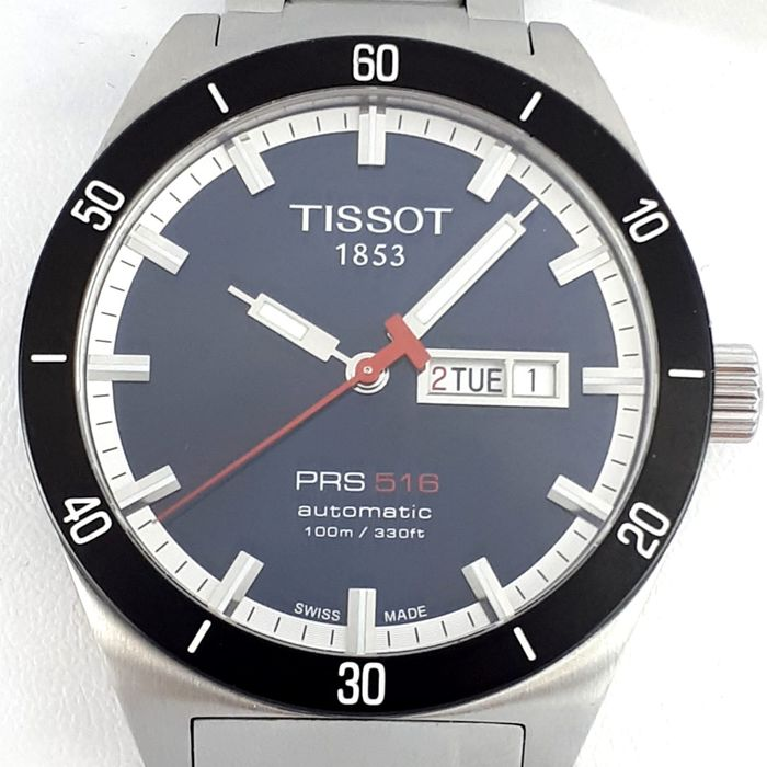Tissot - PRS 516 AUTOMATIC DAY-DATE - T044430 A - Homme - 2011-aujourd'hui