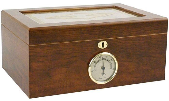 Humidor for 100 Cigars - New and Original Packed - 1
