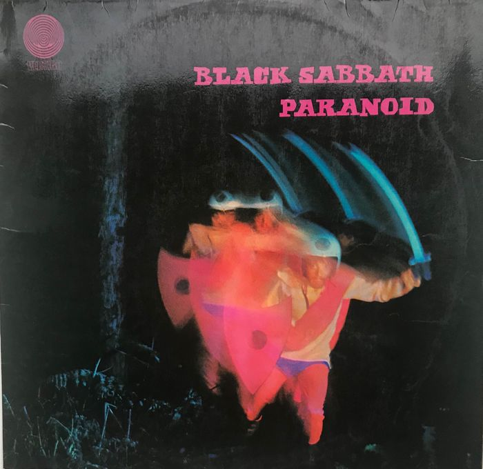Black Sabbath - Paranoid - LP - 1970/1970