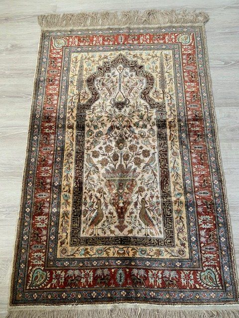Hereke - Silk carpet - 140 cm - 95 cm