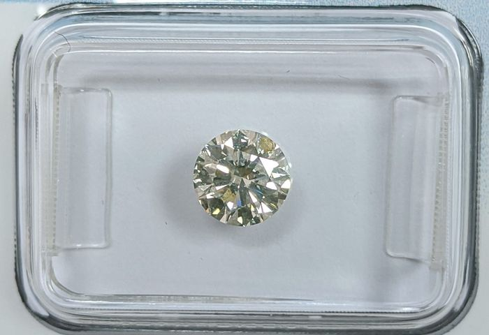 Diamante - 0.75 ct - Brilhante - J - I1, IGI Antwerp - No Reserve Price