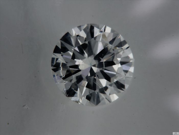 1 pcs Diamante - 0.52 ct - Brilhante - G - VS2