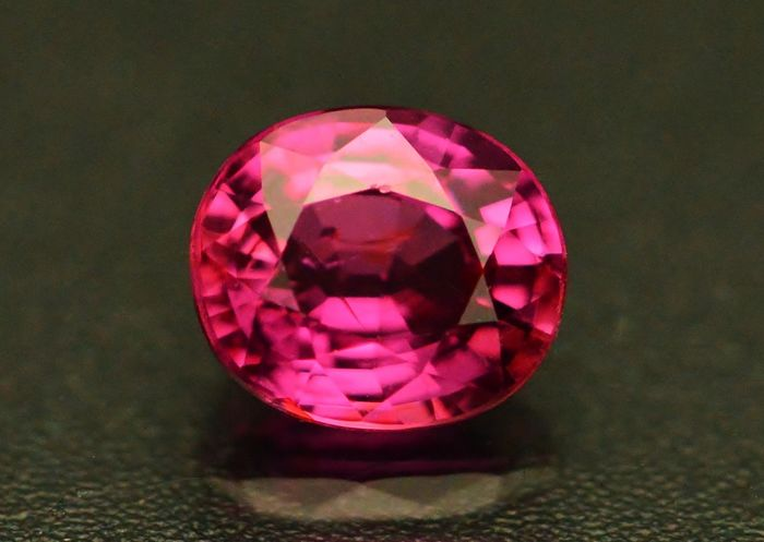 1 pcs Rosa Zafiro - 1.13 ct