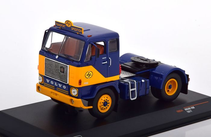 IXO - 1:43 - Volvo F88 towing vehicle 1971  - ASG
