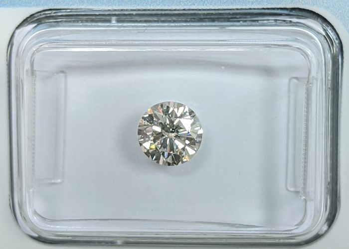 Diamante - 0.70 ct - Brillante - G - I1, IGI Antwerp - No Reserve Price