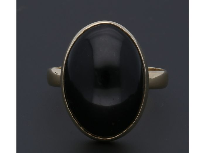 14 kt Gold - Ring Onyx