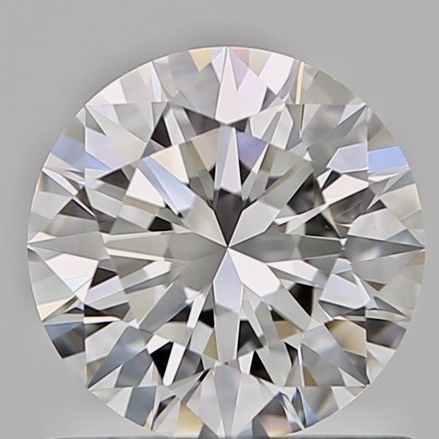 1 pcs Diamant - 0.70 ct - Briljant - E - VVS2, ***Low reserve***