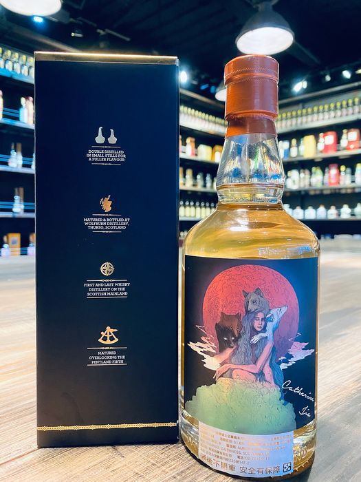 Wolfburn 2015 Single Cask Series the Wolf Girl Exclusively Bottled for WhiskyClub.co in Taiwan - 700ml
