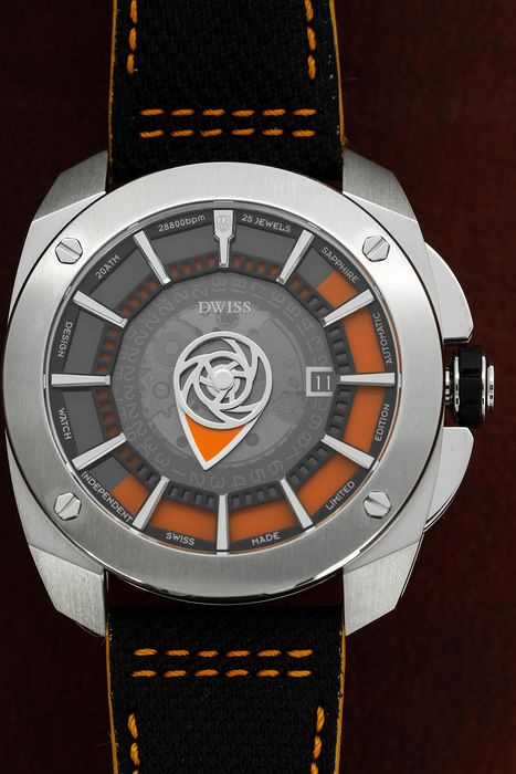 DWISS - Limited Edition Automatic Swiss Made Signature Time Display - RS1-SO - Homme - Brand New