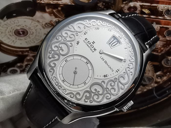 Edox - Les Bemonts Jumping Hour Limited 50pcs - Homme - 2000-2010