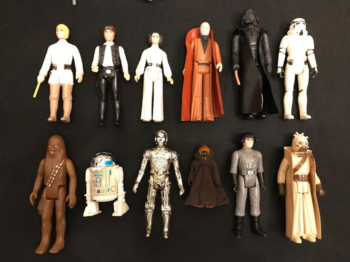 Star Wars Kenner Action Figures First 12 Figures Catawiki