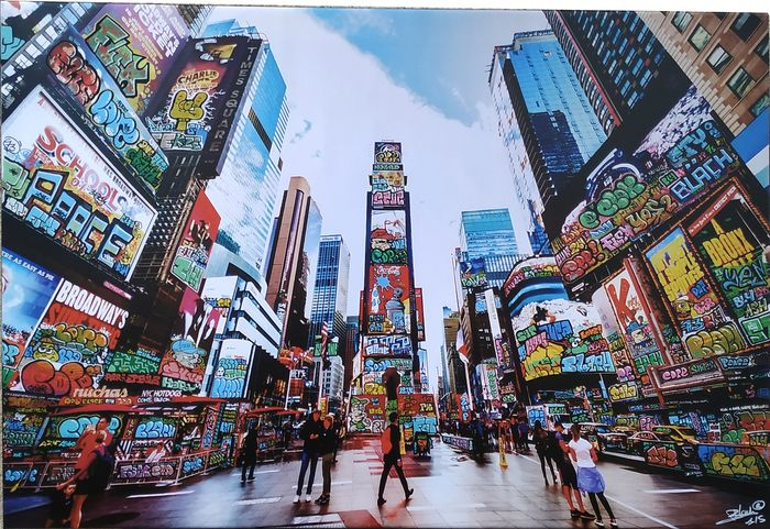 BLACH® (Maxime Blachere) - Vandal in Time Square