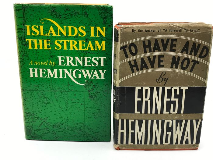Ernest Hemingway - Islands in the Stream + To Have and Have Not - 1937/1970