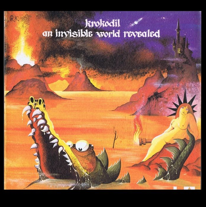 Krokodil (Hard Rock, Psychedelic Rock)  - An Invisible World Revealed - LP Album - 1971/1971