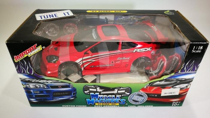 Muscle Machines - 1:18 - Acura RSX 2003 - Ref.71198