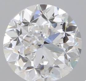1 pcs Diamante - 1.00 ct - Redondo - D (incolor) - VVS2