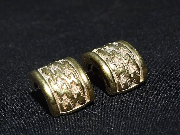 Christian Dior Gold-plated - Earrings / Clips