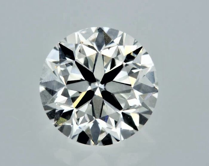1 pcs Diamond - 0.90 ct - Round - G - VVS1