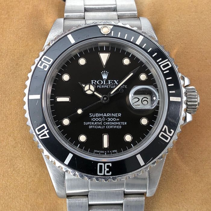 Rolex - Submariner Date, Zorro Dial, Triple Zero  - 168000 - Men - 1980-1989