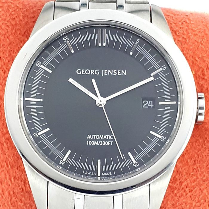 """Georg Jensen - Vice Collection Automatic - """"NO RESERVE PRICE"""" - Ref: 389 - Homme - 2011-aujourd'hui"""