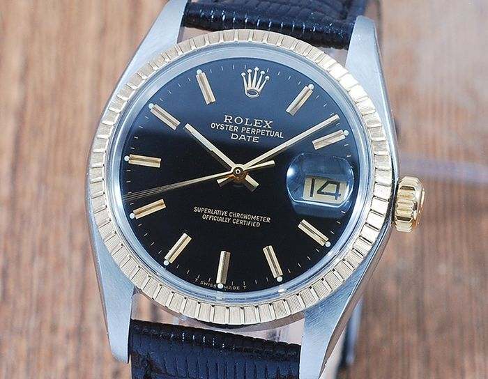 Rolex - Oyster Perpetual Date  - 1505 - Homme - 1970-1979