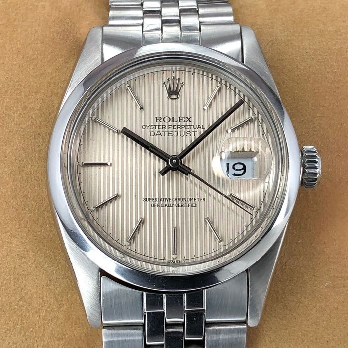 Rolex - Datejust Tapestry Dial  - 16000 - 男士 - 1980-1989