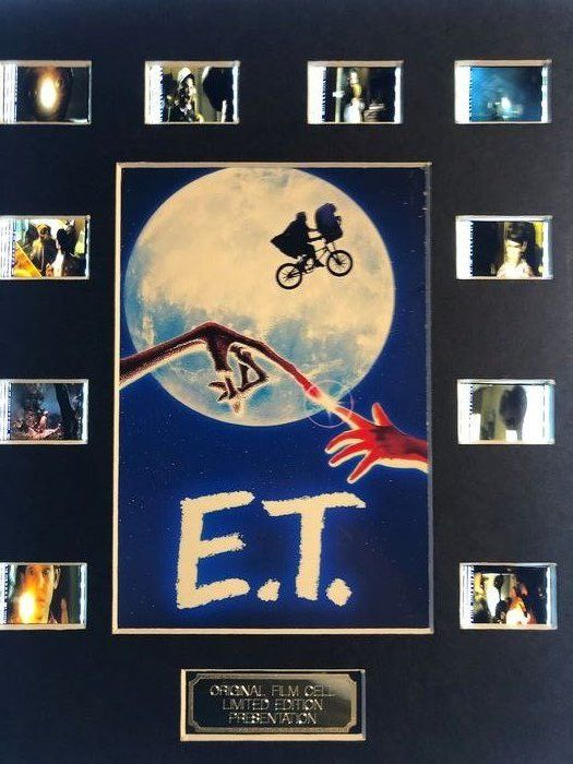 E.T. The Extra Terrestrial -    Film Cell Display