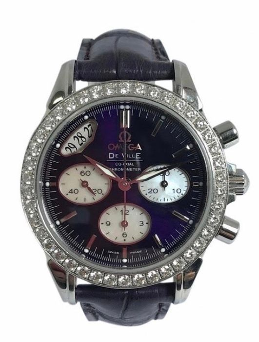 Omega - De Ville Co-Axial Chronometer Diamonds Edition - 422.18.35.50.10.001 - Women - 2011-present