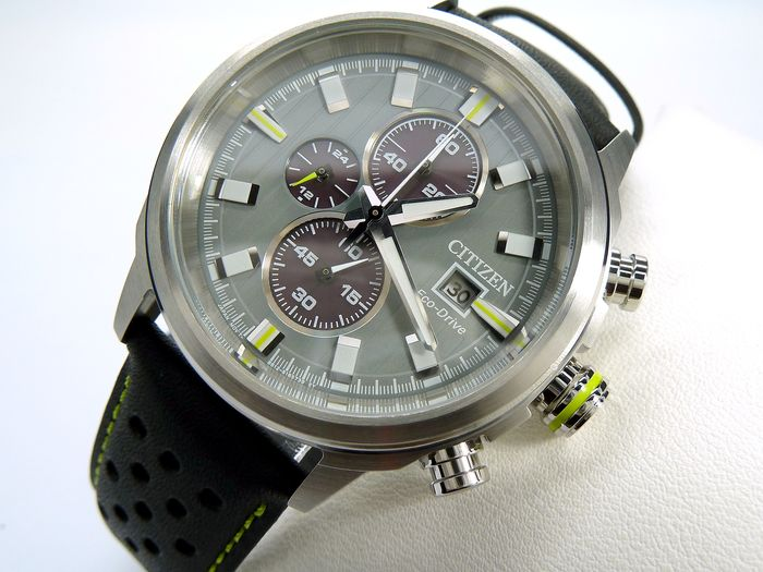"Citizen - ""NO RESERVE PRICE""  chronograh collection - - cal b612 - Uomo - 2020"