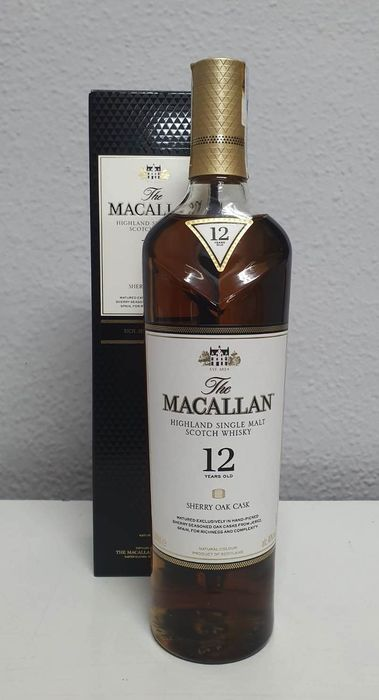 Macallan 12 years old Sherry Oak - Original bottling - 700ml